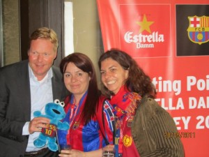 photograph of Ronald Koeman, part of the Dream Team for Barca and Triki En El Mundo