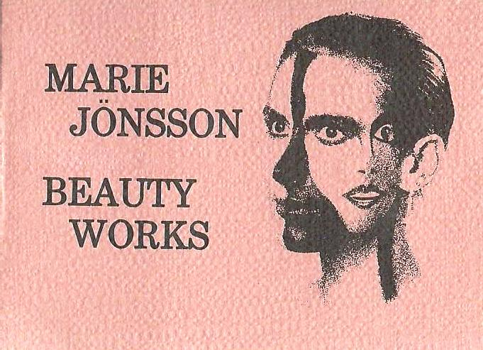 artist Marie Jonsson-Harrison's logo for her beauty salon on the art blog Body Art and Emma Hack